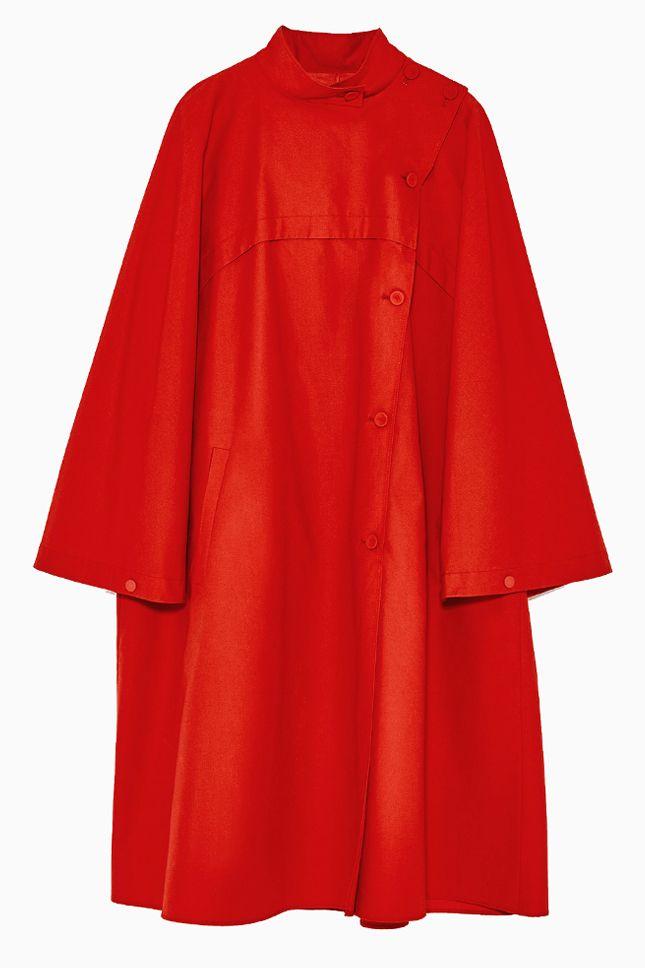 Куртки, пальто и плащи красного цвета   Мода   Выбор VOGUE   VOGUE