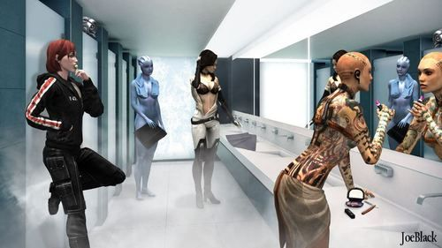 Mass Effect Funny Moments...# legion # when you see it # how did no one notice him?