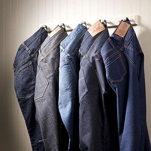 blue jeans and more blue jeans