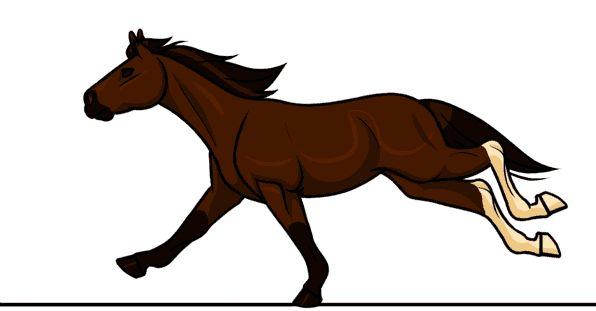 Картинки лошади в анимации, картинки