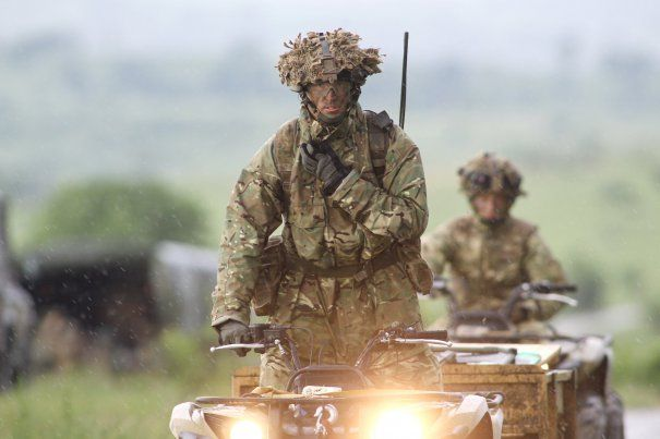 Soldații americani fac un nu EXERCIȚIU TACTIC pe teritoriul României I FOTO