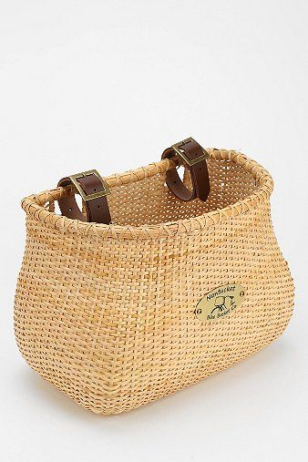 Mine is like this - in white to match the seat; Nantucket Basket