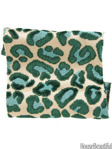 Cheetah Velvet in a wild color combo.