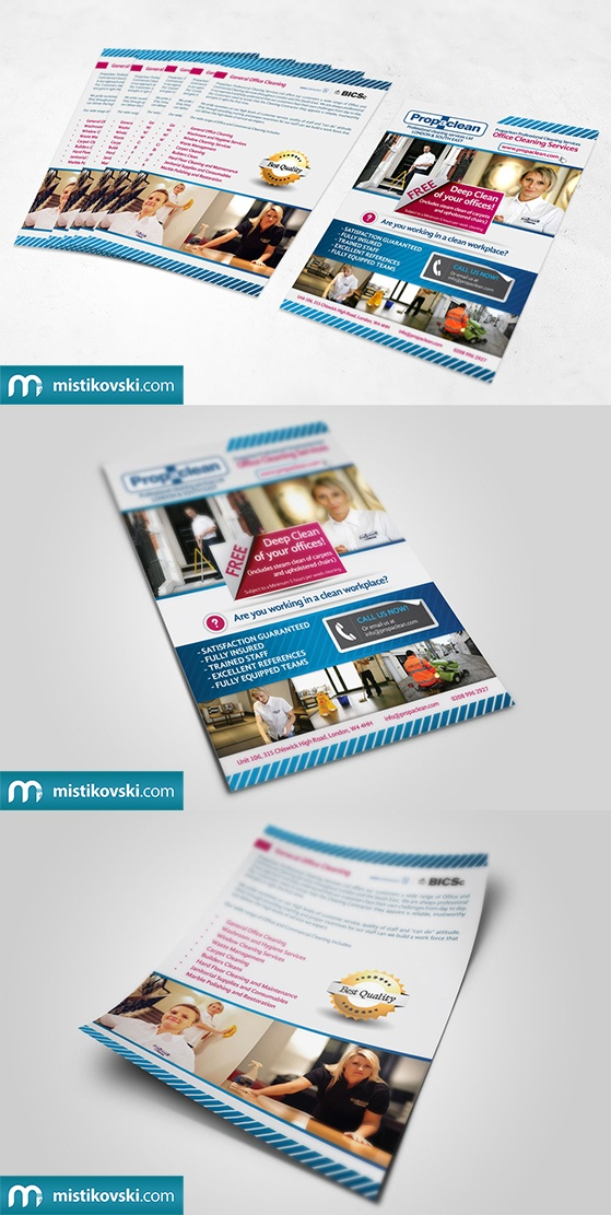 Propaclean | Flyer | www.mistikovski.com