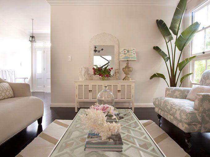 <3Coffe Tables, Coffee Tables, Living Rooms, Beach House, Palmeiras Dentro, Palms Trees, Interiors Design, Porchlight Interiors, Inside House