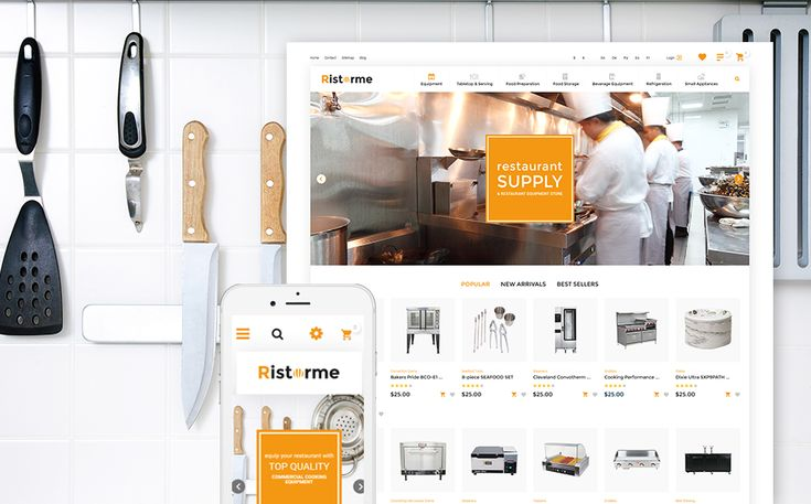 20+ Kitchenware, Cookware and Knife Store Ecommerce Website Themes (Cookware PrestaShop Themes)