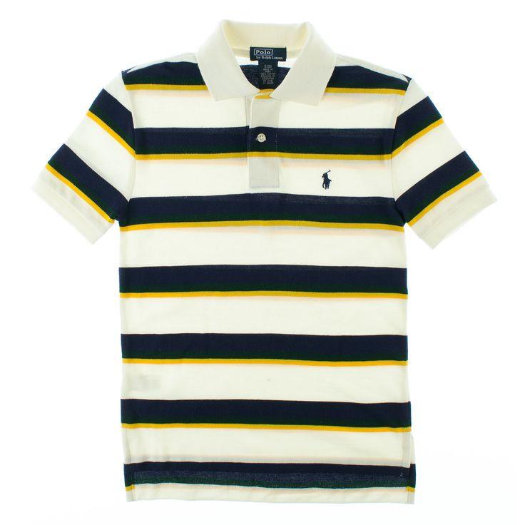 Ralph Lauren poloskjorte for gutter - alltid like populær!