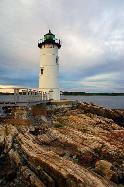 Portsmouth Harbor Lighthouse, New Hampshire | Portsmouth Har… | Flickr
