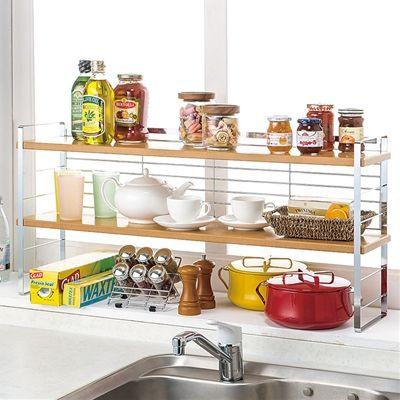 キチンとキッチンシンク収納ラックのページです。家具通販ベルーナインテリア(interior)はインテリア商品が豊富な通販サイトです。