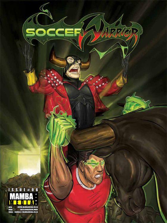 Soccer Warrior June 2014 cover