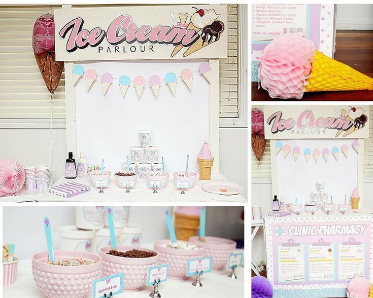 Rebekah's Doc Mcstuffins / Ice-cream Party