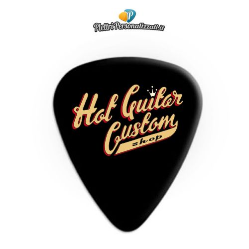 Plettri Personalizzati per Hot Guitar Custom Shop