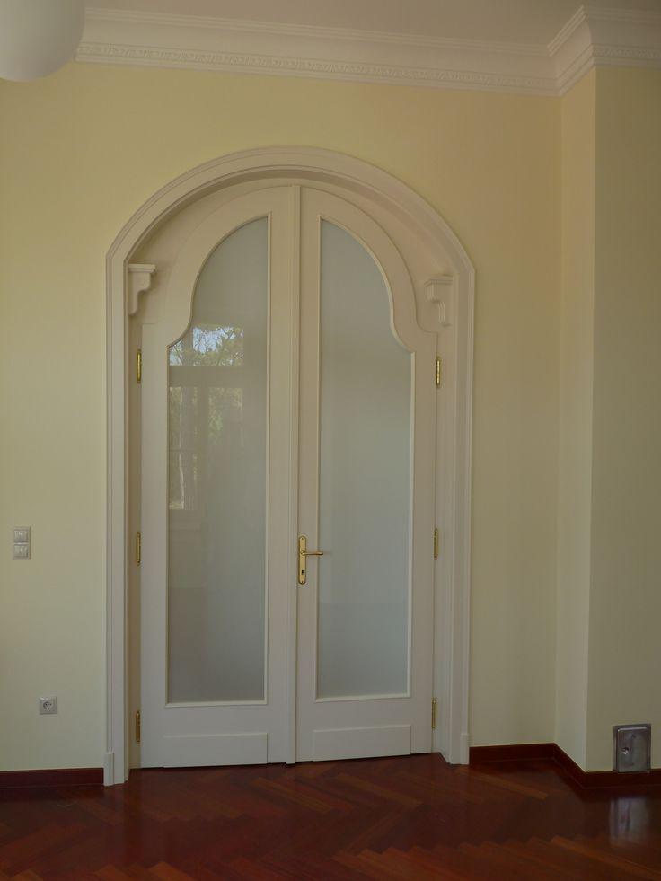 klasszikus egyedi mdf ajtó