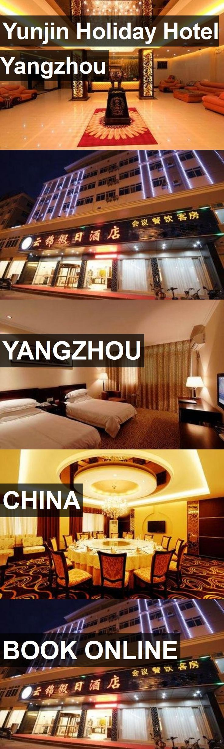 Yunjin Holiday Hotel Yangzhou in Yangzhou, China. For more information, photos, reviews and best prices please follow the link. #China #Yangzhou #travel #vacation #hotel