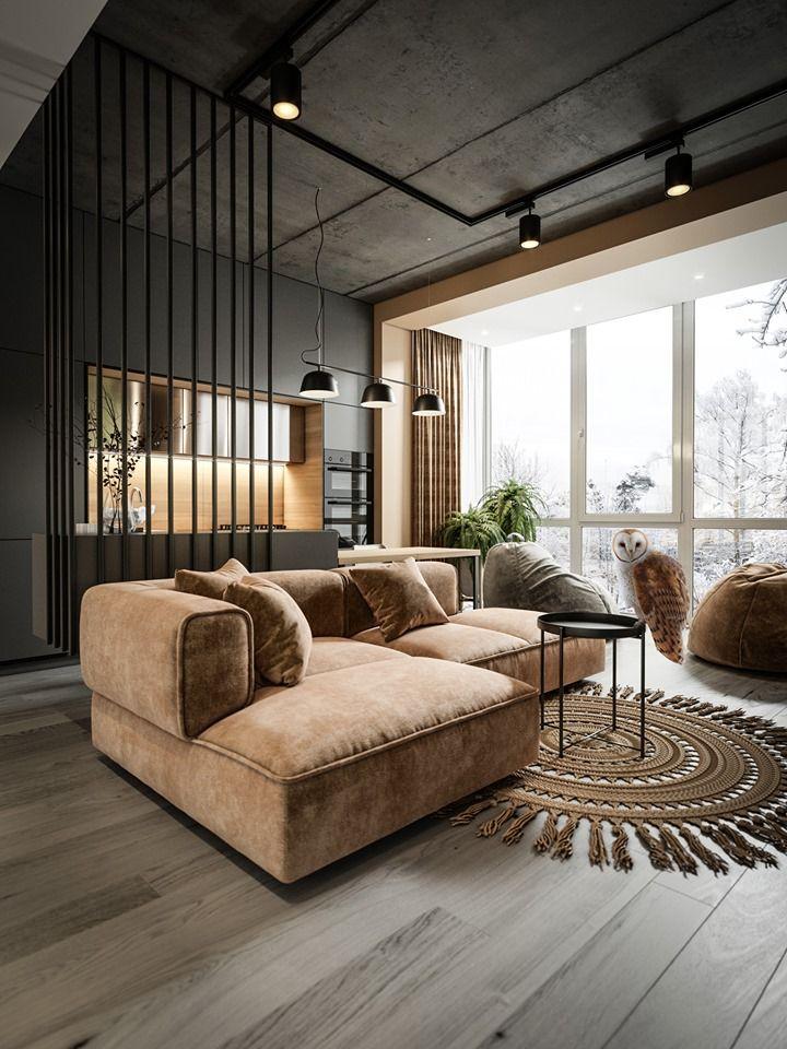 3d Room Interior Design: Creative Cozy Interior Design For Your Home Space, Living