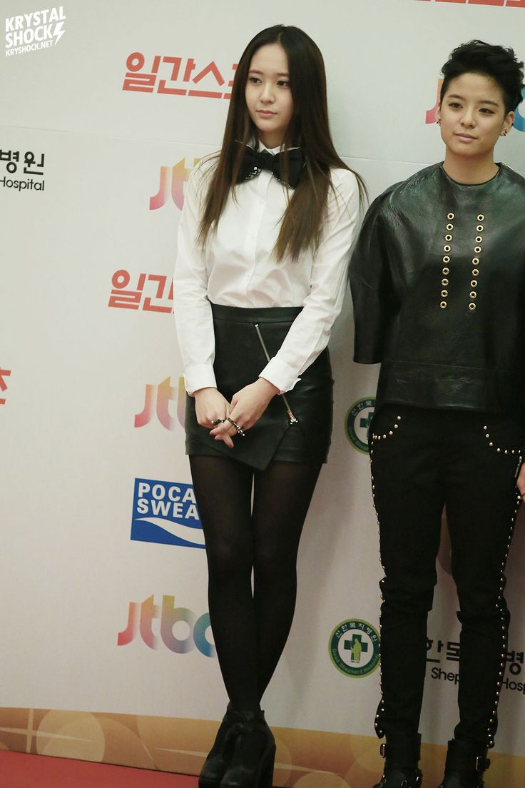 Krystal and Amber at Golden Disk Awards 2014. Cr: KryShock