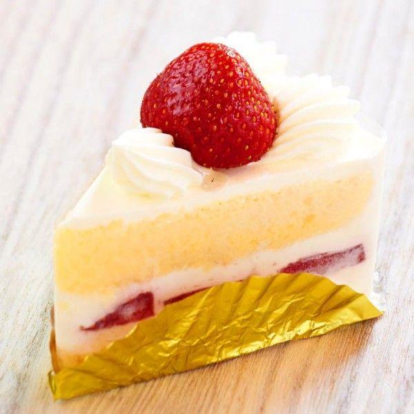 甘酸っぱいイチゴと生クリームの『ショートケーキ』
