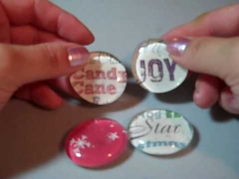 Nice tutorial on making your own fridge magnets find for Where to buy magnets for crafts