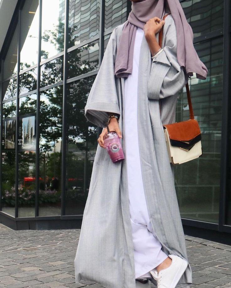 jubah muslimah trend terkini