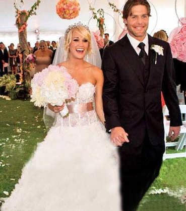 Carrie Underwood marries our hometown boy Mike Fisher ...