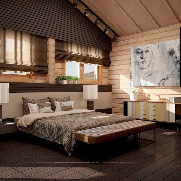 Мебель и предметы интерьера в цветах: черный, темно-коричневый, коричневый, бежевый. Мебель и предметы интерьера в стилях: минимализм, экологический стиль.