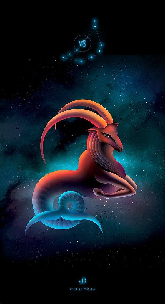 Capricorn in the cosmos