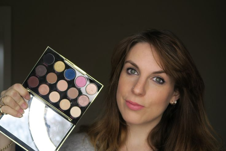 How to use the Urban Decay Gwen Stefani palette. This is how to create a subtle blue liner