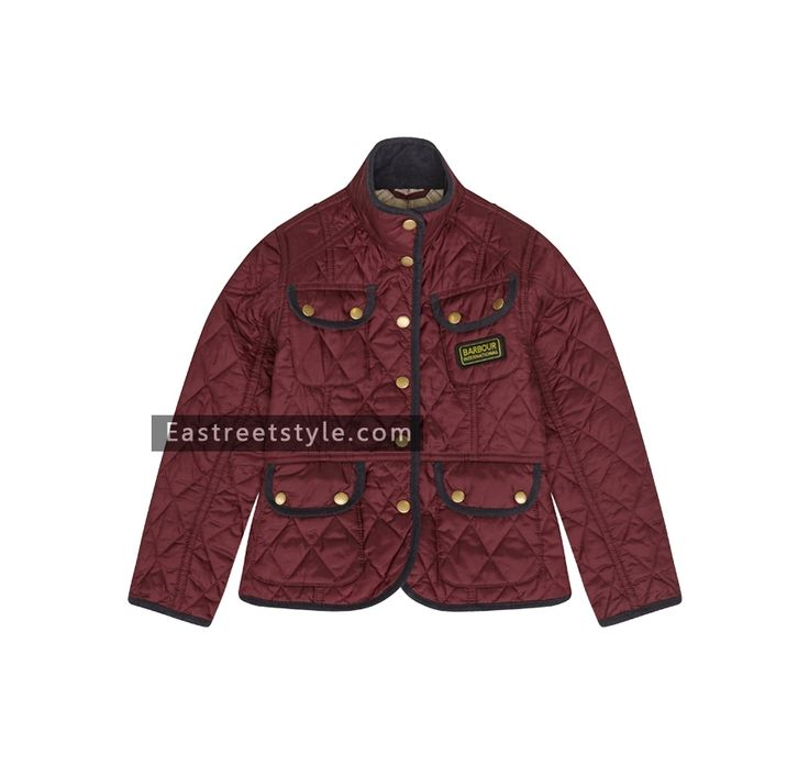 Barbour Girl's Vintage International Quilted Jacket at www.eastreetstyle.com #Barbour Jackets Sale