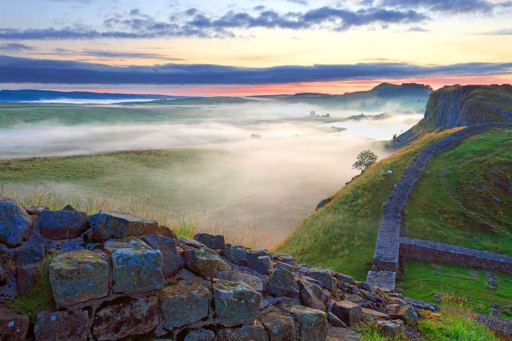 """""""Milecastle 39, Hadrian's Wall, Northumberland """" by Roger Clegg"""