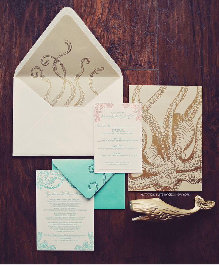 Best 25+ Beach Wedding Invitations Ideas On Pinterest