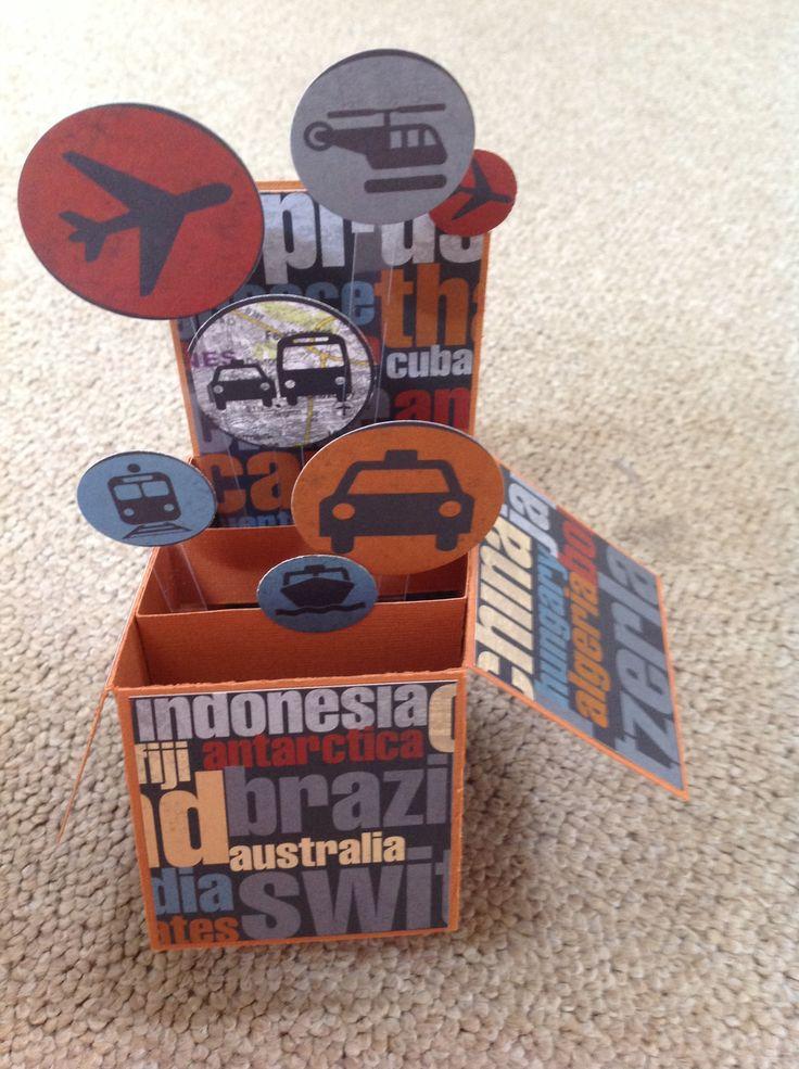 Travel Box by Susan of Art Attic Studio