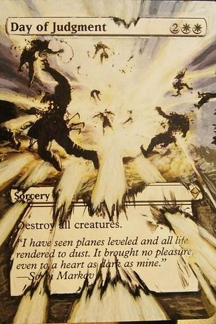 "(Sometimes WAY past the normal edges.) | 21 Incredible Altered ""Magic: The Gathering"" Cards"