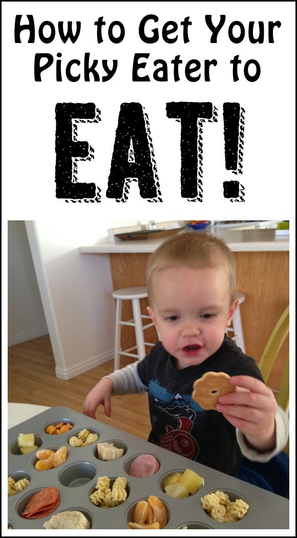 How to get your picky eater to eat.
