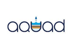 VI|ロゴデザイン|ブランドロゴ|ロゴマーク|ロゴタイプ|オリジナルフォント|サービスロゴ|ミネラルウォーター|アクアド|WEBサイト|株式会社モノトライブ
