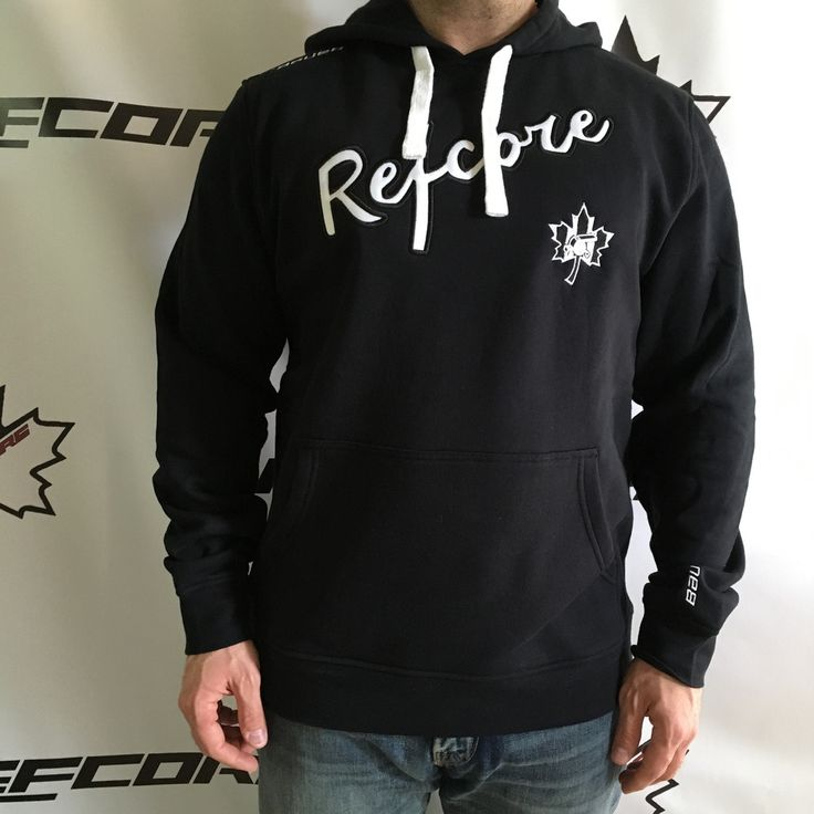 REFcore™ Hoodies - Lifestyle by Bauer #refereeapparel #referee #ref #hockeyreferee #hockeyref #hockey #hockeyapparel #lifestyle #bauer #refcore