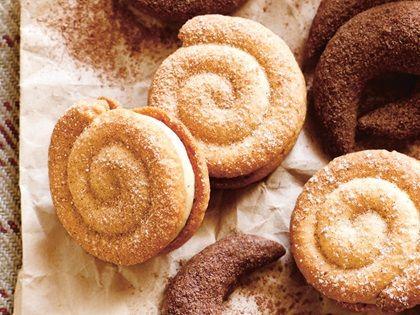 Alnatura Rezept: Sandteig-Schnecken mit Apfel-Zimt Creme