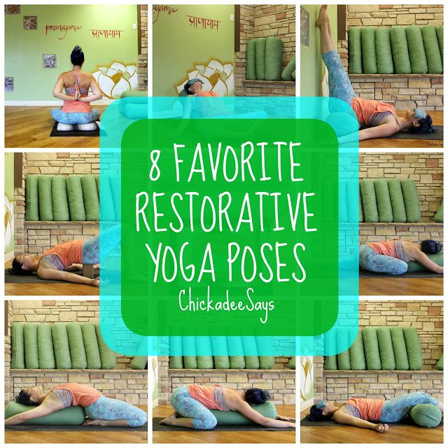 8 Favorite Restorative Yoga Poses