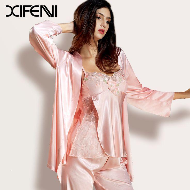Sexy silk pyjamas