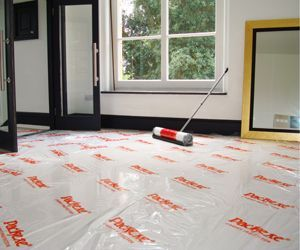 Packexe Carpet protection before painters and decorators start.