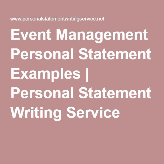 Professional personal statement writing service