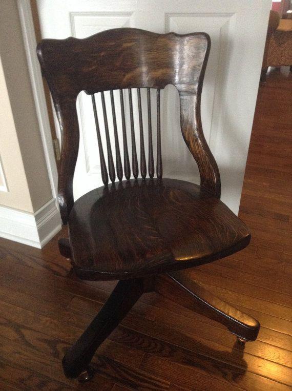 Antique Heywood Bros. Wakefield Company Walnut/ Cherry Bankers Chair - Best 25+ Heywood Wakefield Company Ideas On Pinterest Wicker