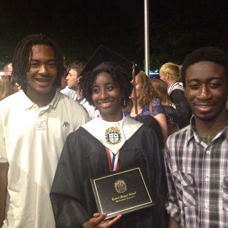 Robbie's graduation