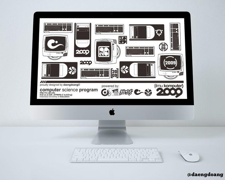 Computer Science UPI 2009 - Desktop Wallpaper Design on Behance