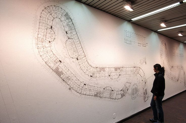 Exhibition: Sauerbruch Hutton: Sense and Sensuality, large-scale plan