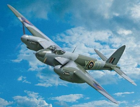 The world's only flying WWII De Havilland Mosquito based in New Zealand       I Love this airplane.