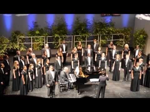 GSU - Florilege Vocal De Tours International Choral Competition final round performance 5-26-13 Pt2 #GSU #georgiastate #university #choral #florilegevocaldetours
