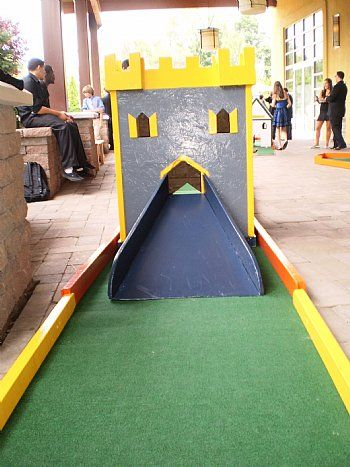 diy mini golf obstacles | 87 servers and apis on tomography