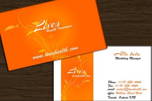 Freebies : 5 Free Business Card Templates ( PSD files )