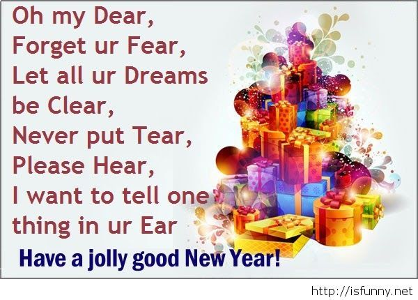 Jolly happy new year quote 2015 funny picture