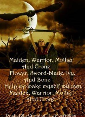 Maiden, Warrior, Mother, and Crone